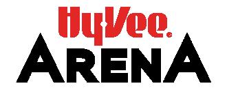 Hy-Vee Arena name logo
